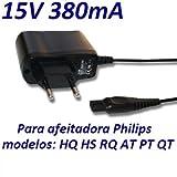 Ladegerät Aktuelle 15V Ersatz für Rasierer Philips PT715 PT720 PT725 PT730 PT735 PT860 Netzadapter Netzteil Replacement