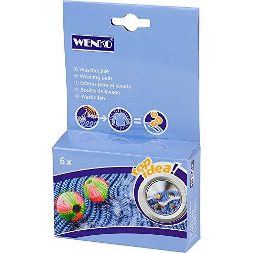 Wenko 7027100 Boules de Nettoyage Anti-Peluches Top Idea 6 Pièces