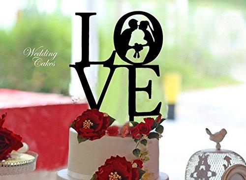 ShinyBeauty Cake Topper-Baby-Dusche, beleuchtete Kuchen Topper, Acryl Kuchen (Disney Figuren 50 Top)