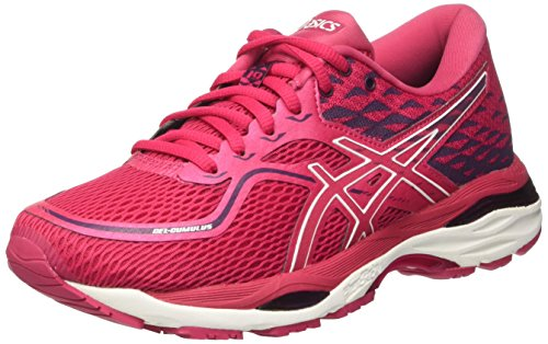 Asics Women's Gel-Cumulus 19 Running Shoes, Cosmo Pink/White/Winter Bloom, 6 UK(39.5 EU)
