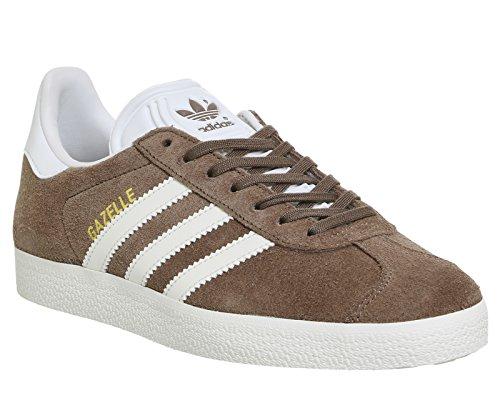 adidas Herren Gazelle Sneaker Braun (Trace Brown/off White/footwear White)