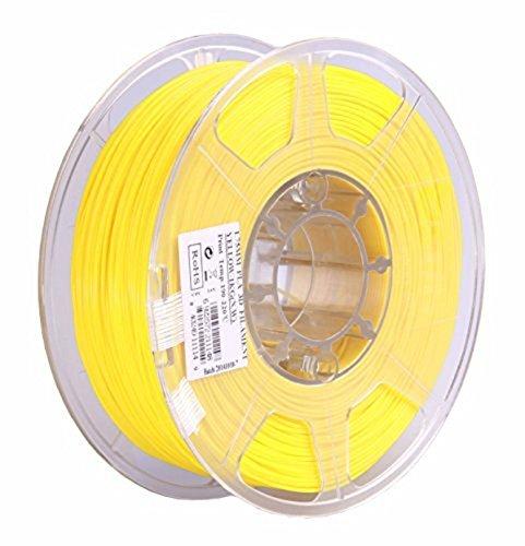 Preisvergleich Produktbild SUN-E eSun 3D Filament - PLA,  1kg / 1.75mm - Glass Lemon Yellow,  Druck Tempe. 190-220 Grad C,  Universal für 3D Drucker z.B. MakerBot RepRap MakerGear Ultimaker Mendel Huxlep UP Thing-o-matic