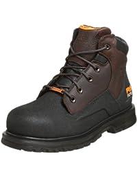 "Timberland PRO Men's 47001 Power Welt Waterproof 6"" Steel-Toe Boot,Brown/Brown,10.5 M"