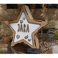 Lámpara Estrella personalizada
