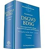 DSGVO BDSG: Datenschutz-Grundverordnung, Bundesdatenschutzgesetz und Nebengesetze