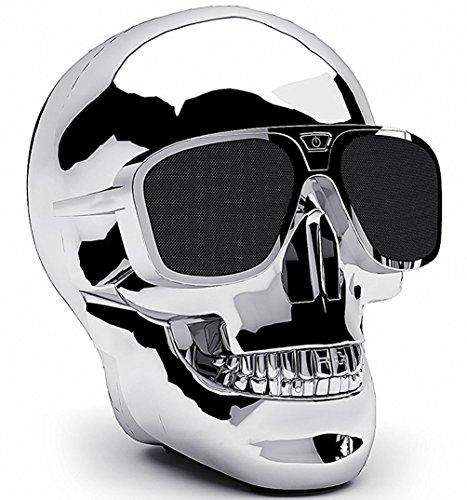 Enceinte bluetooth crâne