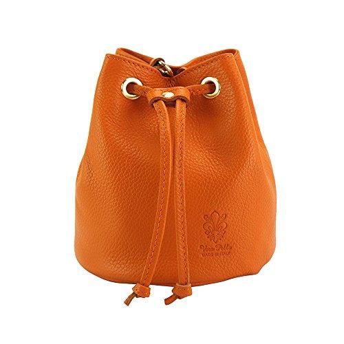 De 9124 À Bandoulière Market En Souple Vache Cuir Leather Ilaria Florence Sacs Mainorange Sac Yf6bgy7