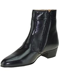 d4e3eedfe0a14 Amazon.es  botas negras tacon - Botas   Zapatos para hombre  Zapatos ...