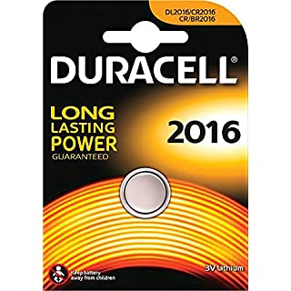 Duracell Specialty Lithium Batterie 3V Knopfzelle (DUCR2016) 1 Stück