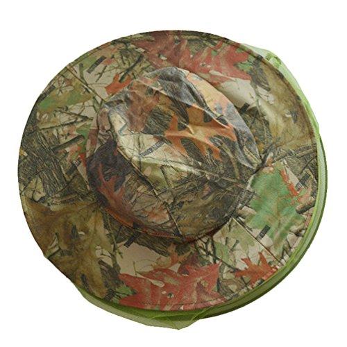 Dooxi Outdoor Anti-Moskito Insekt-Fliege Angeln Maske Verstellbar Dschungel Hut