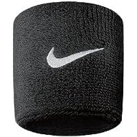 Nike Swoosh polsini, Unisex, Swoosh, black/White, Taglia unica (uomo)