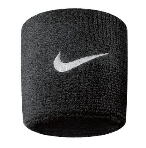 Nike Swoosh Wristbands black/white -