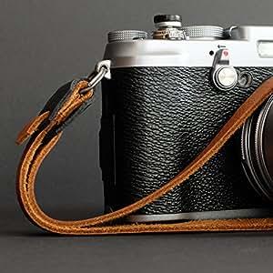 Retro Genuine Leather Camera Hand Strap Amazon Co Uk