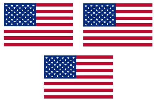 4x2,5 cm - Mini Premium Aufkleber Fahne / Flagge USA Sticker Motorrad Auto Bike Länder auch für Dampfer E-Zigarette Sisha
