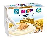 HiPP Grießbrei Babykeks, 6er Pack (4 x 100 g)