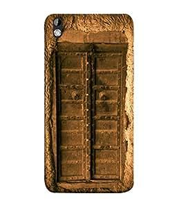 PrintVisa Designer Back Case Cover for HTC Desire 816 :: HTC Desire 816 Dual Sim :: HTC Desire 816G Dual Sim (My Old Village Home Design)