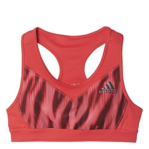 adidas Mädchen YG Printed Graphic Sport-BH, Core Pink, 164