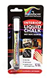 White Interior Liquid Chalk Marker Pen 5mm Bullet