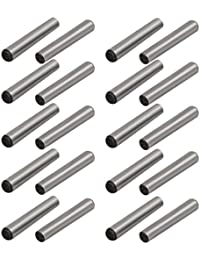 Tradico® Carbon Steel GB117 20mm Length 3mm Small End Diameter Taper Pin 20pcs