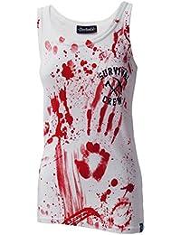 Darkside, Zombie Killer – weißes Shirt ohne Ärmel