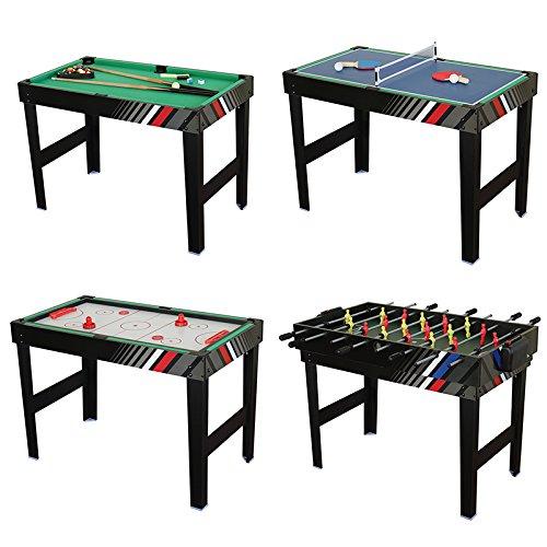 1 Juegos Multi Mesa 4 En Ping Plegable PongFutbolínDe gIbf6v7Yy