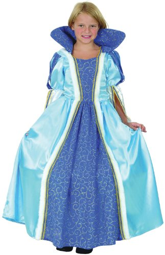 Blaue Prinzessin - Kinder (Kostüm Reifrock Ideen)