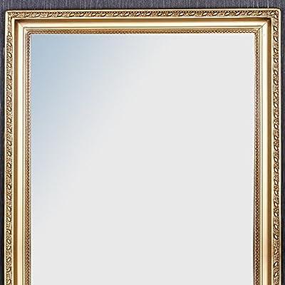 WANDSPIEGEL BAROCK GOLD ANTIK HOLZRAHMEN SPIEGEL 150x40cm Stretto