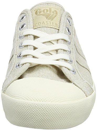 Gonna Herren Coaster Lino Sneakers Grau (farina Davena / Fw Bianco Sporco)