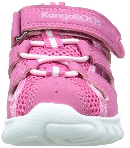KangaROOS Rock Lite, Chaussures Marche Mixte Bébé Rose (Lillipilli/Begonia 660)
