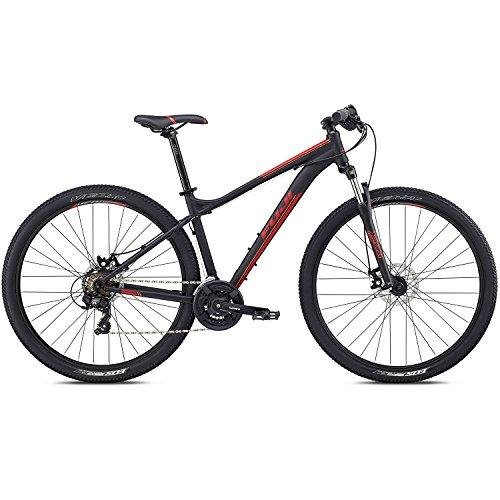 29 Zoll MTB Fuji Nevada 29 1.9 Sport Trail Mountainbike Fahrrad, Rahmengrösse:43 cm, Farbe:Satin Black
