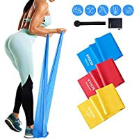 Kyhon Resistance Bands,Skin-Friendly Resistance Fitness Exercise Bands for Physical Therapy,Strength Training,Gym,Yoga,Pilates,Fitness