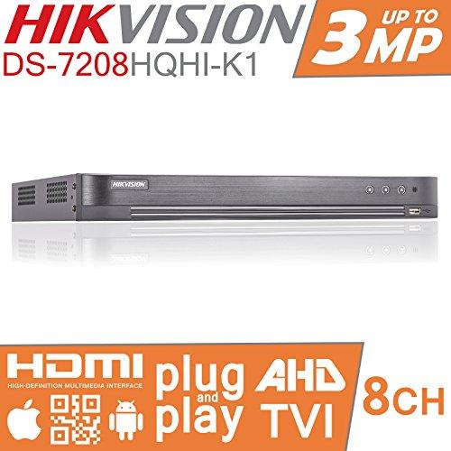 Security Digital Recorder Video (HIKVISION Turbo HD DVR 8CH Kanal CCTV Digital Video Recorder TVI ds-7208hqhi-k1)