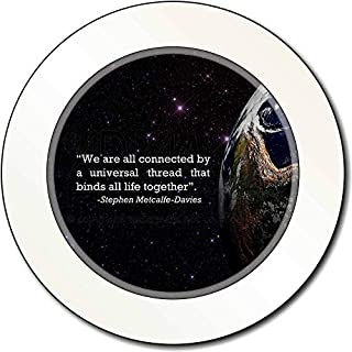Sentiments From The Soul We Are All Connected Quote Car/Van Permit Holder/Tax Disc Gift