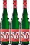Friedrich-Wilhelm-Gymnasium Fritz Willi Riesling 2016 Feinherb (3 x 0.75 l)