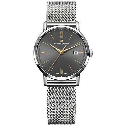 Maurice Lacroix Eliros Date Ladies Quartz watch, Grey, 30mm, EL1084-SS002-813-1