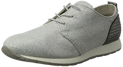 Tom Tailor - 2794102, Pantofole Donna Argento (Silver)