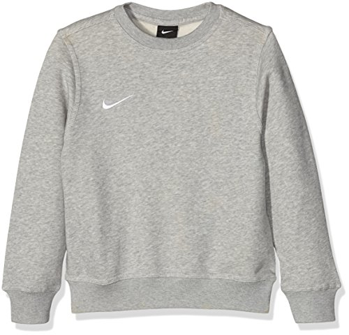 Nike Kid's Team Club Sweatshirt - Grey, L (147 - 158 cm)