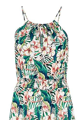 HALLHUBER Robe maxi à l'imprimé floral Multicolore
