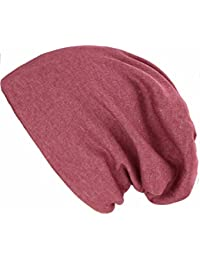 caripe leichte Long Beanie Mütze unisex einfarbig - su99 unifarben
