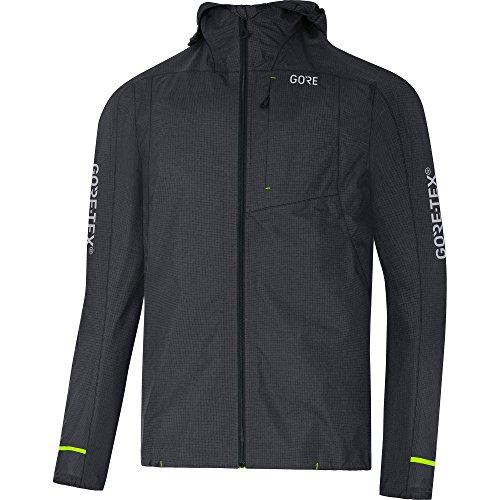Gore Wear Herren C5 Tex Active Kapuzenjacke, Terra Grey, XL