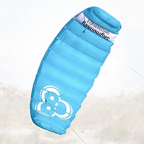 Skymonkey Skystormer 2.3 Lenkmatte 2-Leiner (inkl. Lenkbar) Ready 2 Fly - 230 cm [Blau]