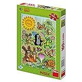 Dinotoys 343382 Hochwertigen Puzzle;Kleines Maulwurf-Motiv, 100 XL Stück