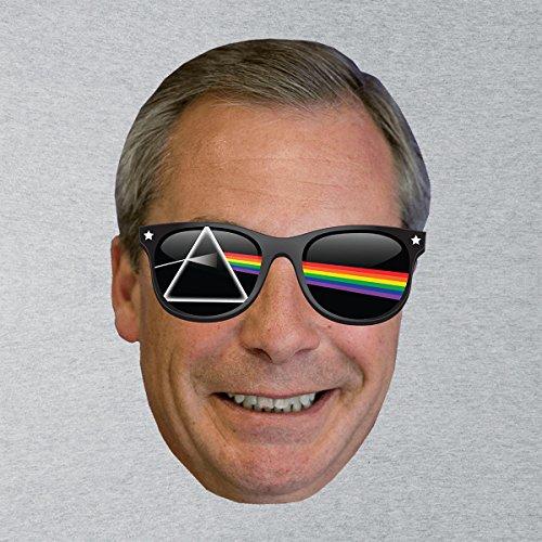 Nigel Dark Side Of The Farage Pink Floyd Women's T-Shirt Heather Grey