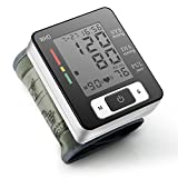 Sfigmomanometro elettronico da polso, JUNMO® Portatile Pressione Elettrico Misuratore Digitale di Pressione PrecisoPolso-blood Pressure Monitor