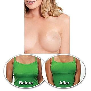 Aquiver unsichtbares Klebeband zur sofortigen Bruststraffung, hebt die Brust an und unterstützt die BH-Form, 10 Stück