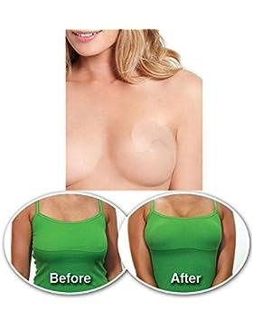 Aquiver Tira adhesiva Invisible para elevar el pecho, 10piezas