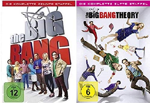 The Big Bang Theory Staffel 10+11 [DVD Set] - Bang Dvd Theory