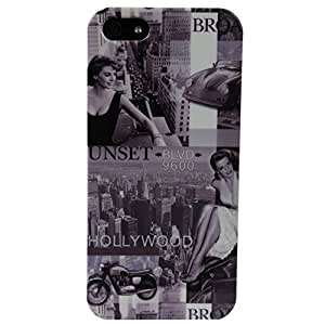 Akashi Coque pour iPhone 5/5S Hollywood