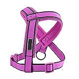 Level Y-Form-Hundeweste-Bügel mit reflektierenden Streifen Gürtel Brust Kragen Walking Training führt Kleidung