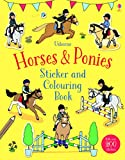 Horses & Ponies Sticker and Colouring Book (First Colouring Books with stickers)